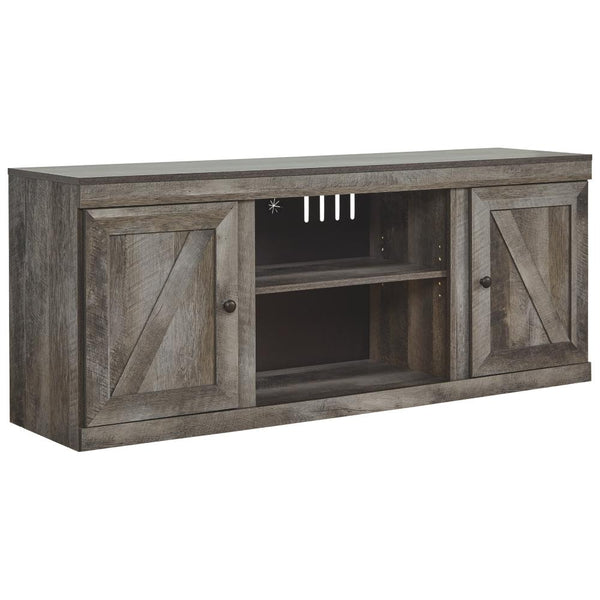 Wynnlow LG TV Stand w/Fireplace Option - Al Rugaib Furniture (4660024803424)