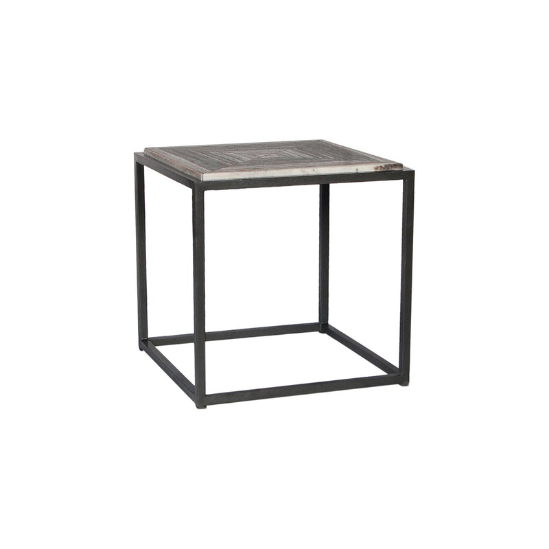 Winslow Marble Side Table - Al Rugaib Furniture (4583285882976)