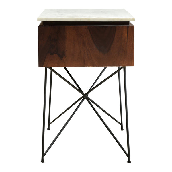 Dominic Nightstand - Al Rugaib Furniture (4583300399200)