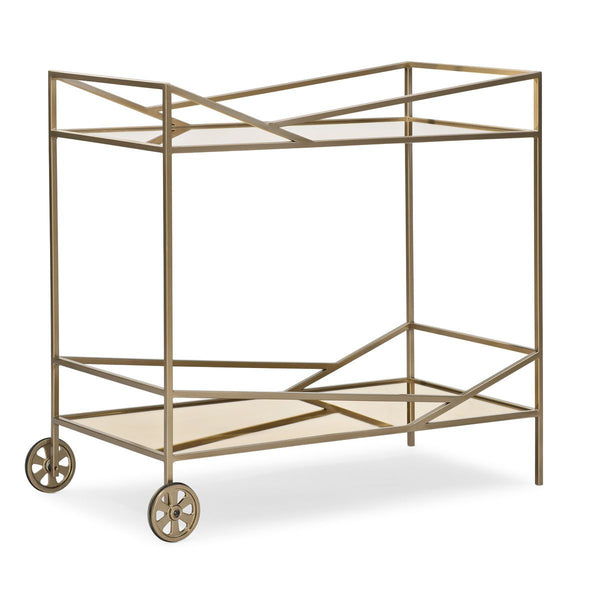 Modern Edge - Vector Bar Cart - Al Rugaib Furniture (4451073720416)