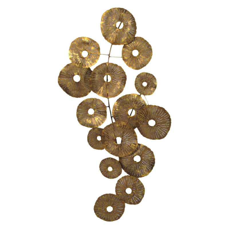 Small Circles Wall Decor Gold - Al Rugaib Furniture (4583240826976)
