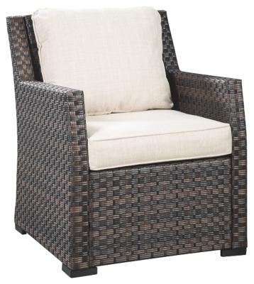 LOUNGE CHAIR W/CUSHION (1/CN) - Al Rugaib Furniture (4569789366368)