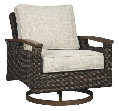 SWIVEL LOUNGE CHAIR ( 2/CN) - Al Rugaib Furniture (4569789628512)