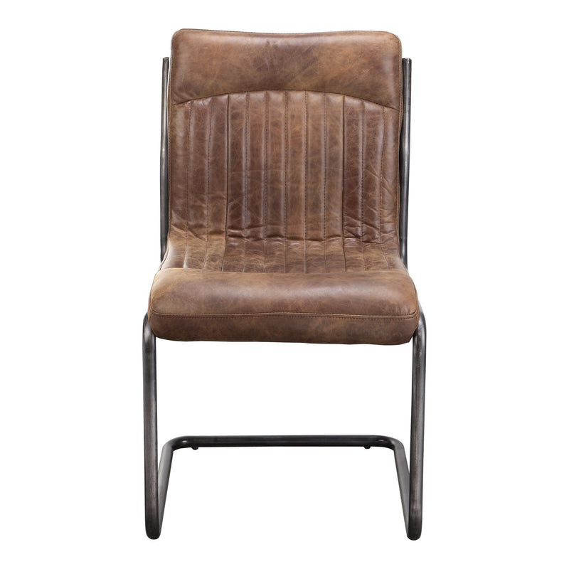 Ansel Dining Chair Light Brown-M2 - Al Rugaib Furniture (4583153401952)