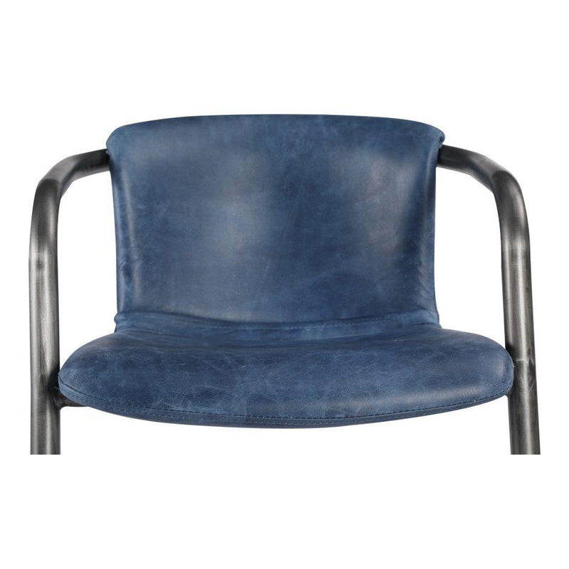 Freeman Dining Chair Blue-M2 - Al Rugaib Furniture (4583229030496)