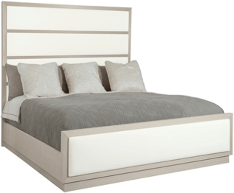 Axiom Upholstered Panel King Bed - Al Rugaib Furniture (4613733449824)