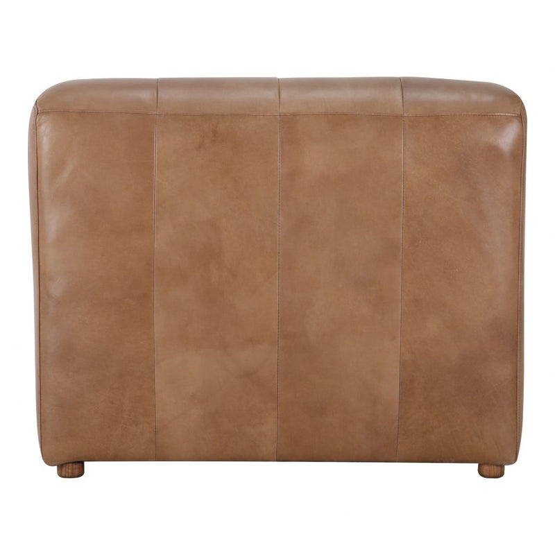 Ramsay Leather Chaise Tan (4732373205088)