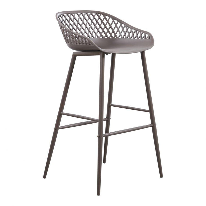 Piazza Outdoor Barstool Grey-M2 - Al Rugaib Furniture (4583255212128)