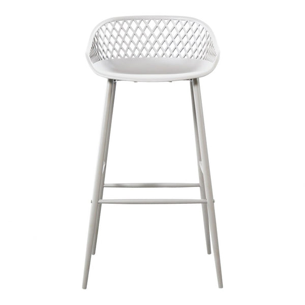 Piazza Outdoor Barstool White-M2 (4732384247904)