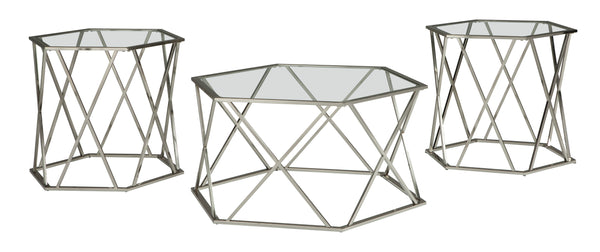 Furniture Occasional Table Set - Al Rugaib Furniture (9154400018)