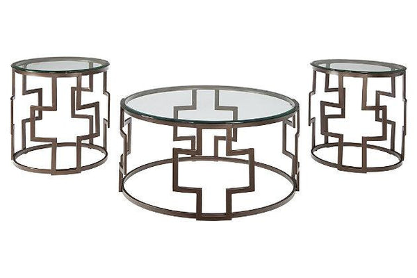 Frostine OCCASIONAL TABLE SET - Al Rugaib Furniture (8727057106)