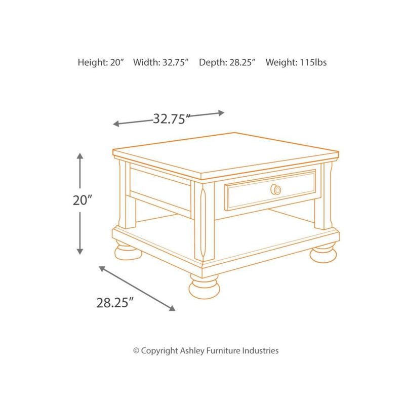 Porter Lift Top Cocktail Table - Al Rugaib Furniture (9666998226)