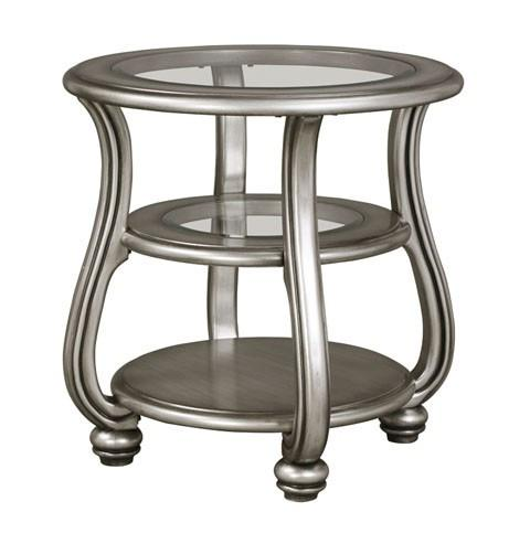 Coralayne ROUND END TABLE - Al Rugaib Furniture (8767229778)