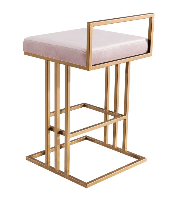 Trevi Blush Counter Stool - Al Rugaib Furniture (4576530727008)