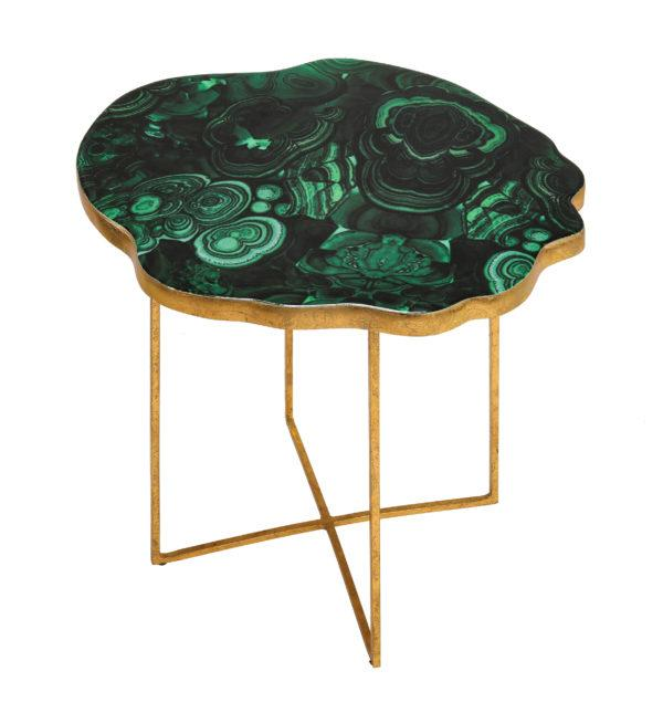 Lily Agate Side Table - Al Rugaib Furniture (2283028349024)