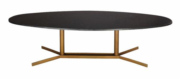 Gemma Black Marble Coffee Table - Al Rugaib Furniture (2282351100000)