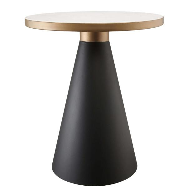 In Stock Richard Marble Side Table - Al Rugaib Furniture (2283165122656)