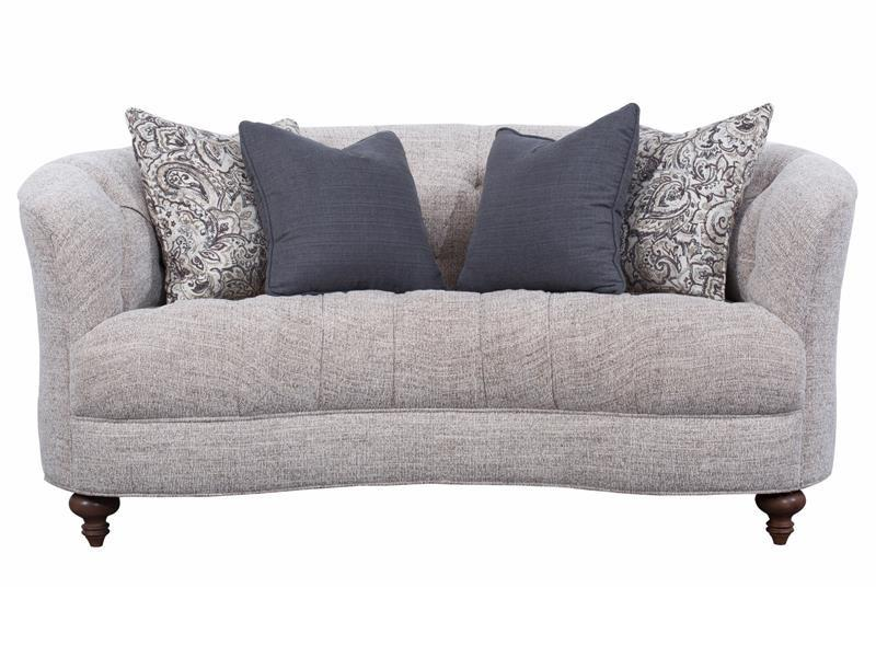 Desseray - Pewter Loveseat - Al Rugaib Furniture (9067600978)
