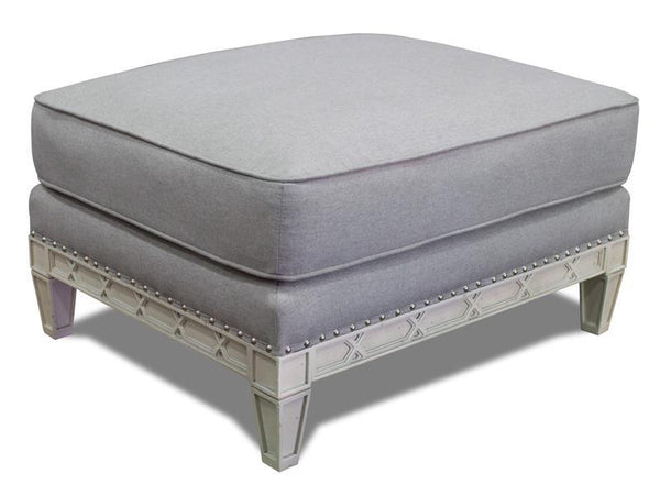 Pewter Ottoman - Al Rugaib Furniture (2233042436192)