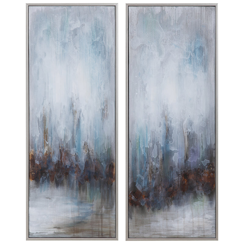 Uttermost - Rainy Days Hand Painted Canvases, S/2 (6536339193952)