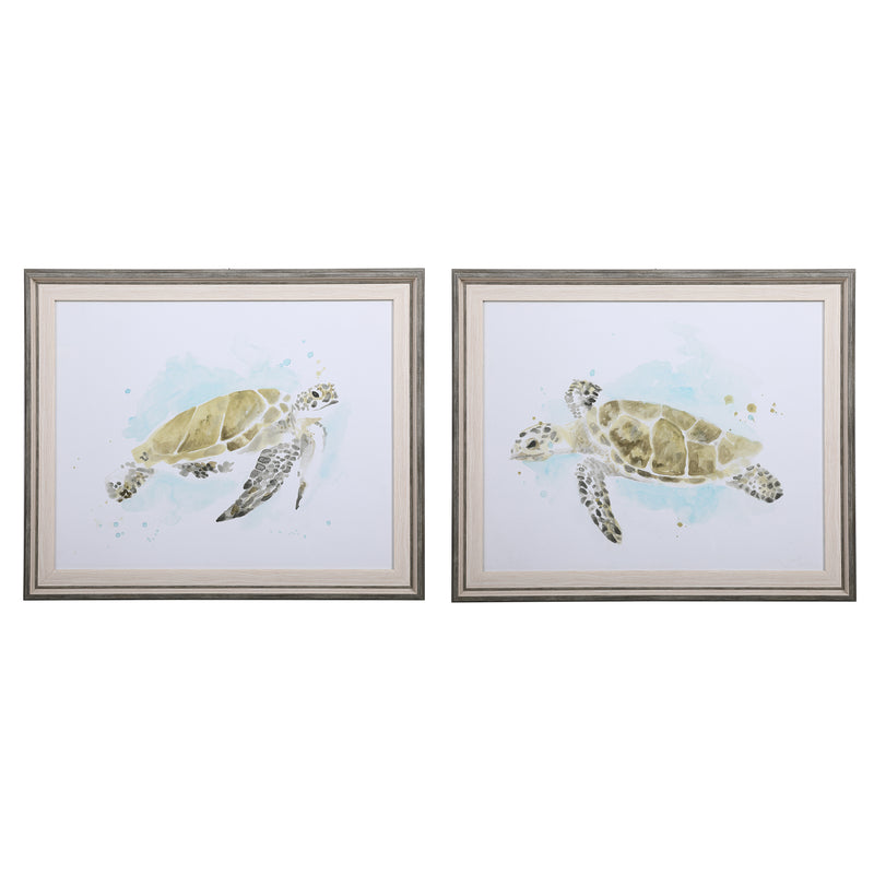 Uttermost-Sea Turtle Study Framed Prints (6536341094496)