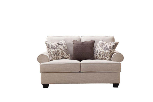 Allisa Loveseat - Al Rugaib Furniture (4580729847904)