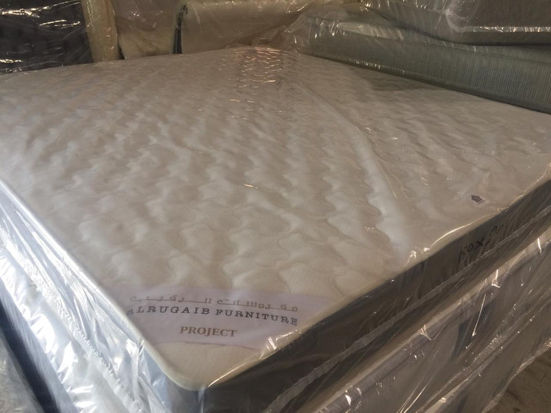 M81m12-Twin mattress - Al Rugaib Furniture (4626396184672)