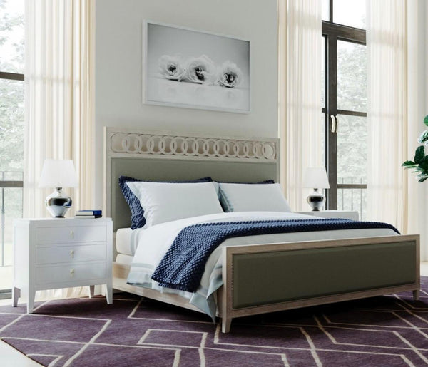 Elise - Upholstered King Bed