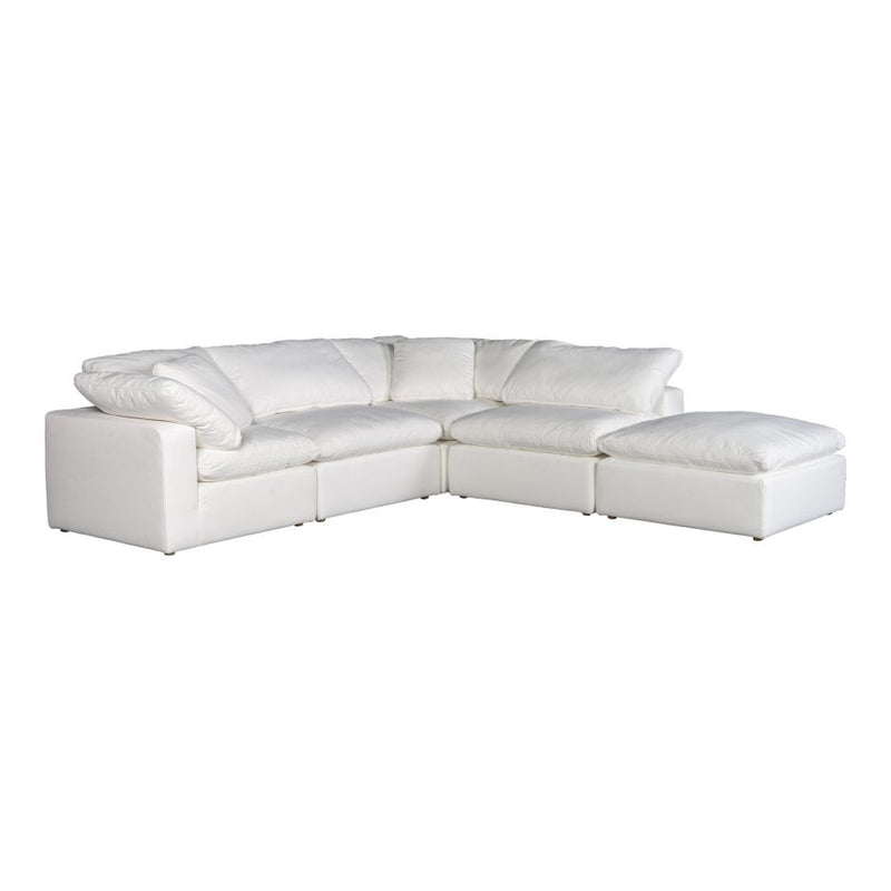 Terra Condo Dream Modular Sectional Livesmart Fabric Cream (4732400730208)