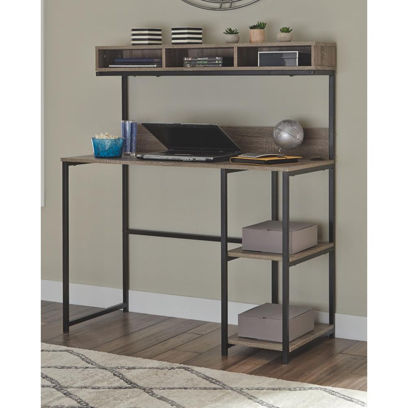 Daylicrew Home Office Desk and Hutch - Al Rugaib Furniture (4660870840416)