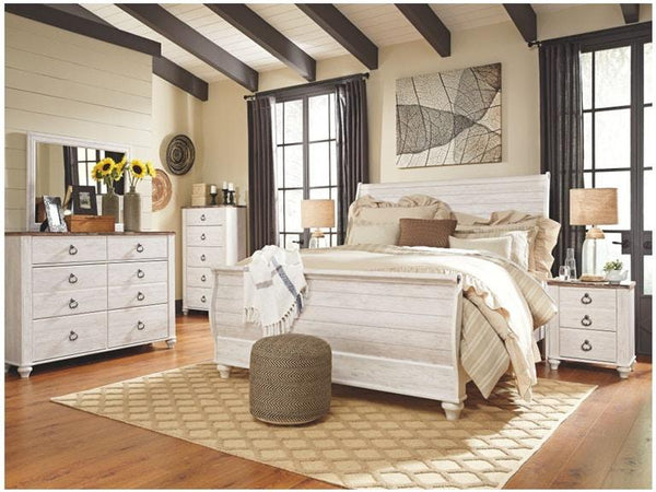 Willowton bedroom set - Al Rugaib Furniture (4585130066016)