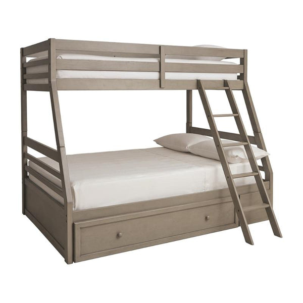 Lettner Twin/Full Bunk Bed with storage (4803280666720)