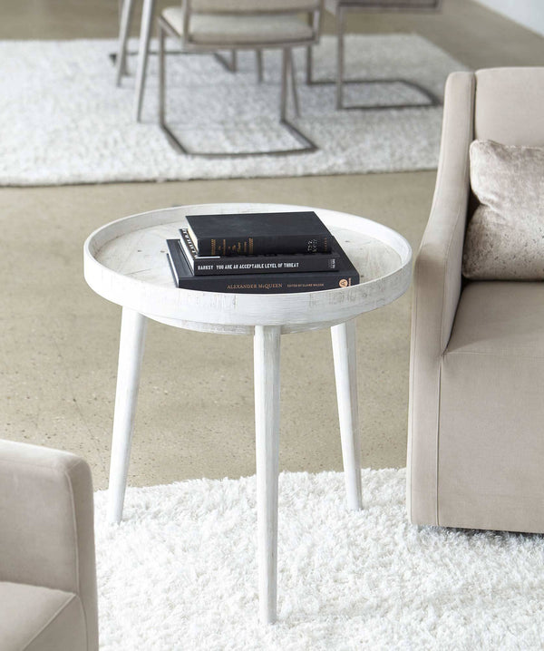 Booker Round End Table - Al Rugaib Furniture (4567833313376)