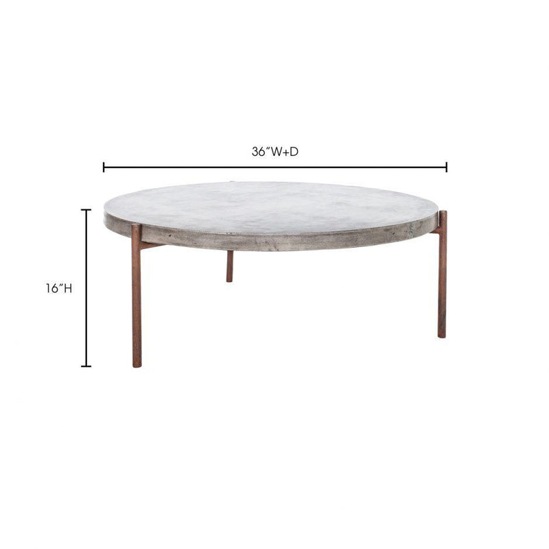Mendez Outdoor Coffee Table - Al Rugaib Furniture (4583177125984)