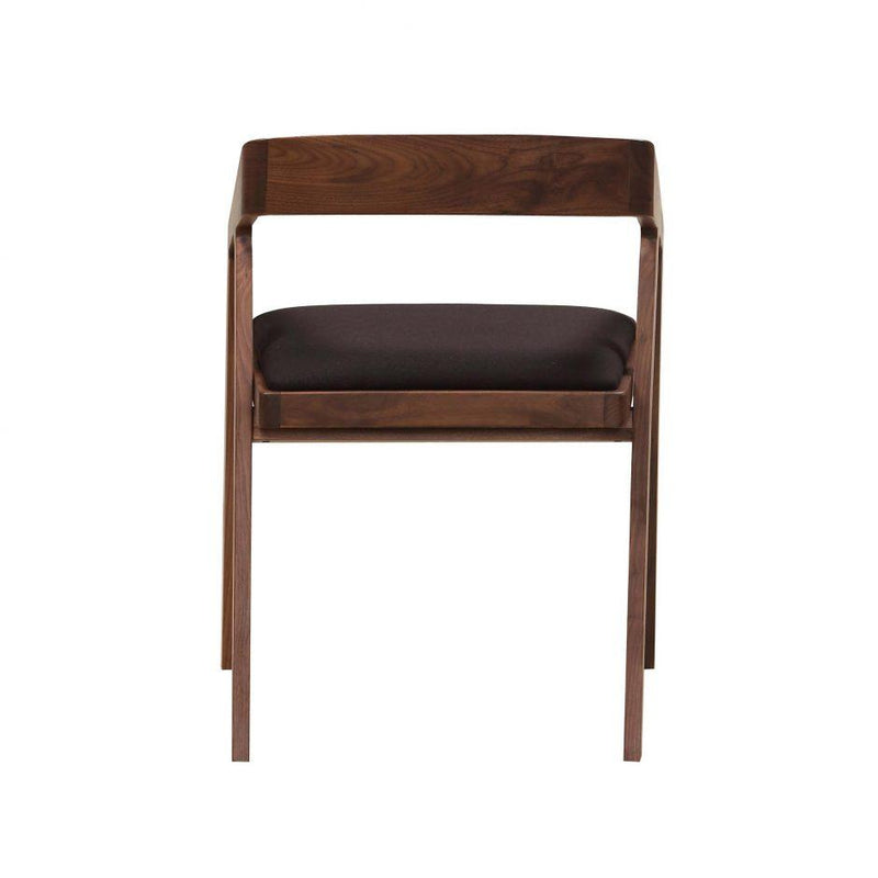 Padma Arm Chair Black - Al Rugaib Furniture (4583182762080)