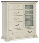 Door/Drawer Asymmetrical Chest - Al Rugaib Furniture (4688793206880)