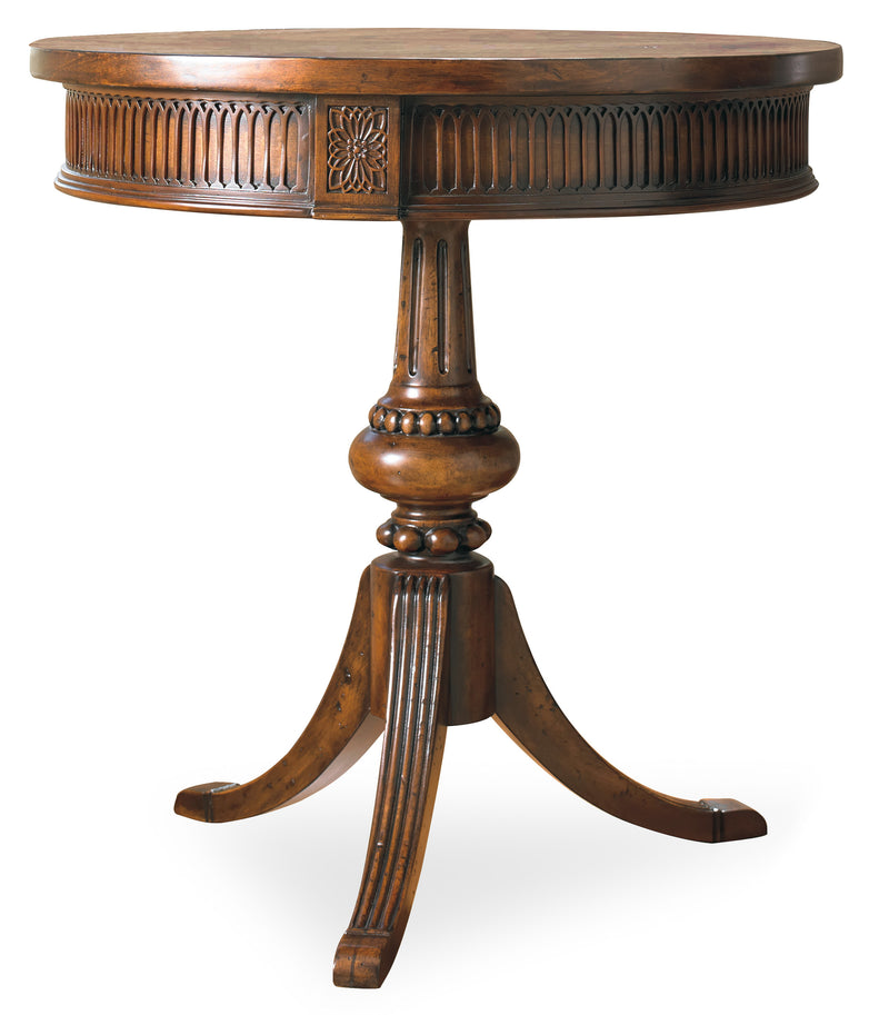 Round Pedestal Accent Table - Al Rugaib Furniture (4688698114144)