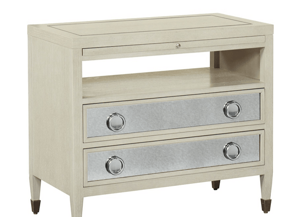 Hyde Park Nightstand - Al Rugaib Furniture (4509470359648)