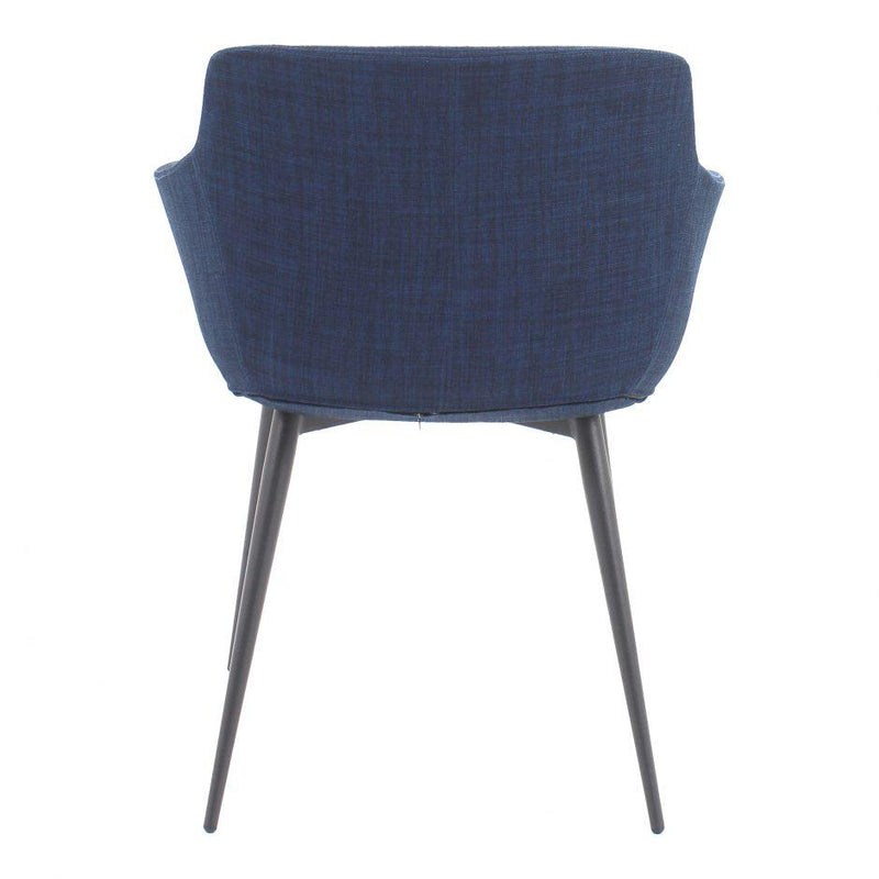 Ronda Arm Chair Blue-M2 - Al Rugaib Furniture (4583166574688)