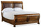 6/0 Sleigh Bed - Al Rugaib Furniture (4688758571104)