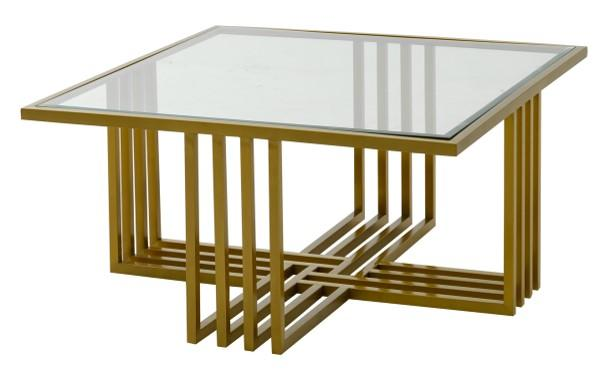 Endless Gold Square Coffee Table (4602269171808)