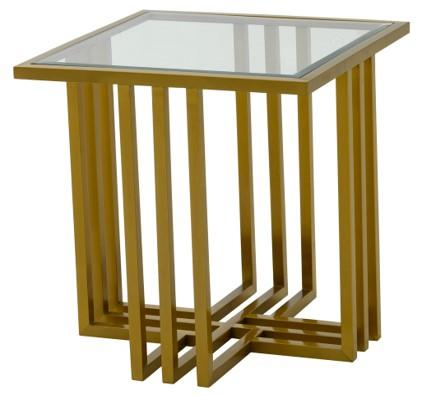 Endless Gold End Table - Al Rugaib Furniture (4602262126688)