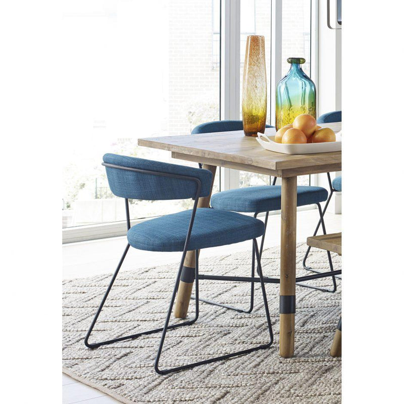 Adria Dining Chair Blue-M2 - Al Rugaib Furniture (4583215923296)