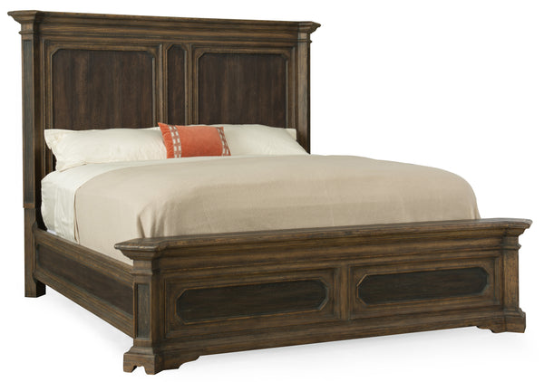 Woodcreek California King Mansion Bed - Al Rugaib Furniture (4688718233696)