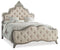 Upholstered Cal King Panel Bed - Al Rugaib Furniture (4688705519712)