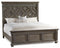 California King Wood Panel Bed - Al Rugaib Furniture (4688790913120)