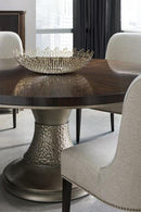 MODERN STREAMLINE - MODERNE DINING TABLE - Al Rugaib Furniture (170369646620)