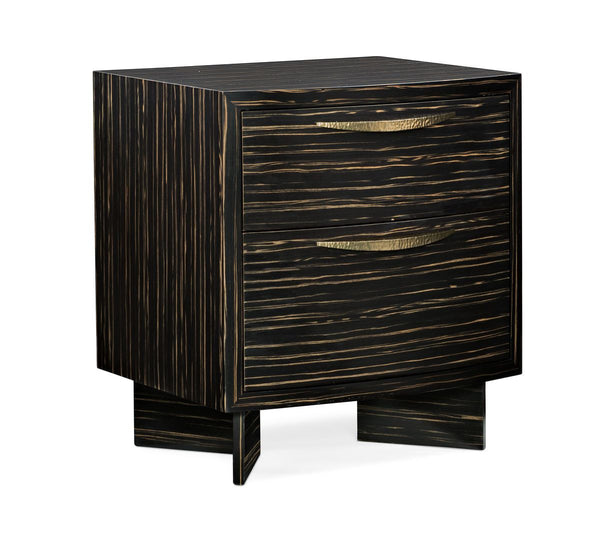 Modern Edge - Vector Nightstand - Al Rugaib Furniture (4488091861088)