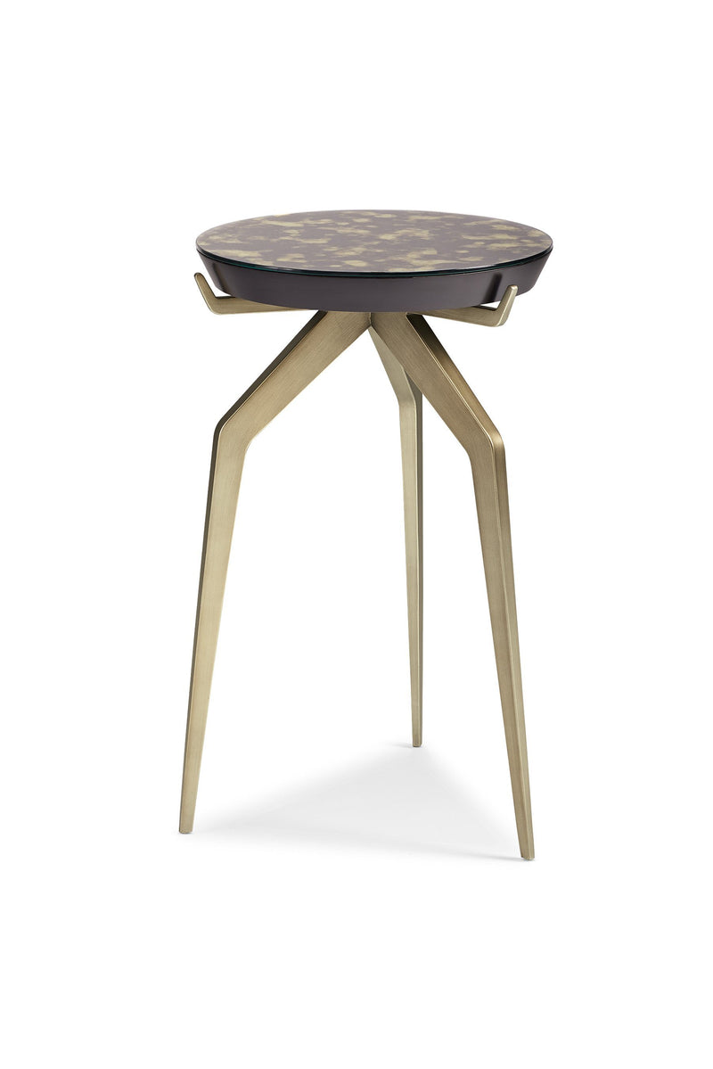 Modern Artisan Remix - Remix Mirror Top Accent Table - Al Rugaib Furniture (4576443826272)