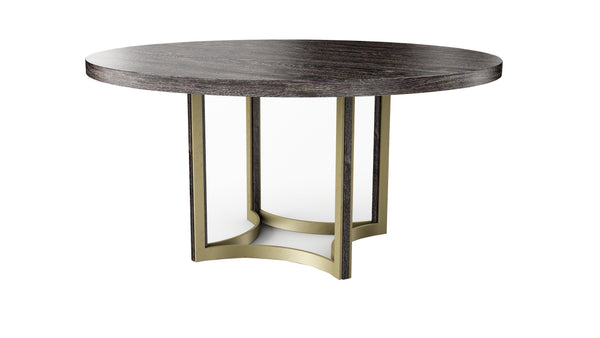 "Modern Artisan Remix - Remix Cerused Table 56"" - Al Rugaib Furniture (4576444153952)"